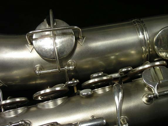 C.G. Conn Silver Plate New Wonder Tenor - 144667 - Photo # 14