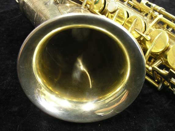 "Conn ""Portrait"" Gold Plate ""Angel"" Alto - 180010 - Photo # 11"