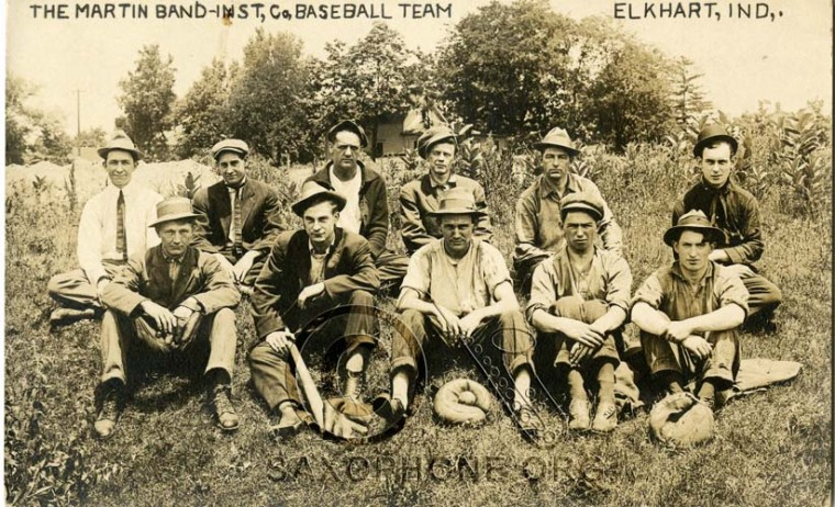 The Martin Band Instrument Co, baseball team-Elkhart, Indiana