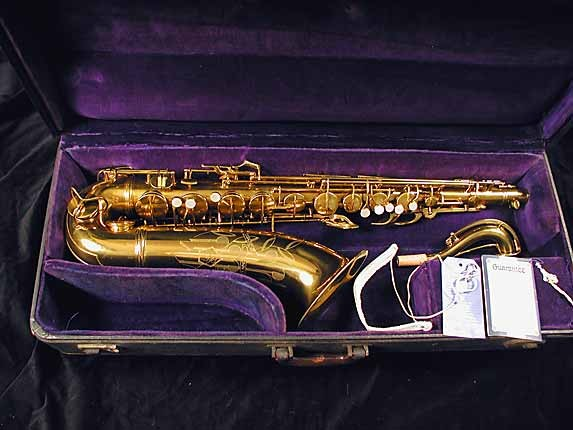 Conn Lacquer 10M Tenor - 291547 - Photo # 1