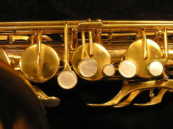 Selmer Gold Plate Super Tenor - 17354 - Photo # 9
