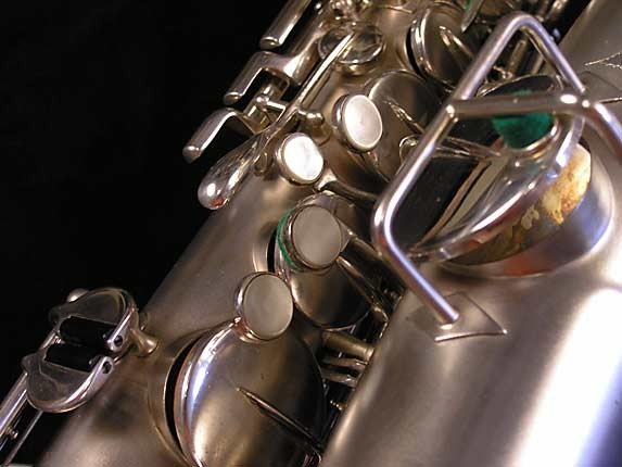 Buescher Silver Plate True Tone Alto - 211895 - Photo # 11