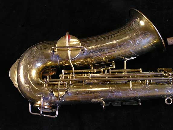 "Martin Gold Plate ""Elkhart"" Alto - 56694 - Photo # 5"