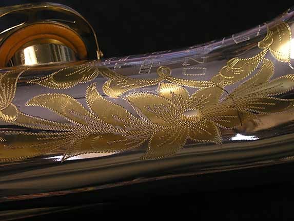 King Silver-Sonic Gold Inlay Super 20 Tenor - 385231 - Photo # 17