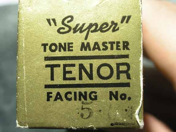 Otto Link Florida Super Tone Master Tenor - Photo # 8