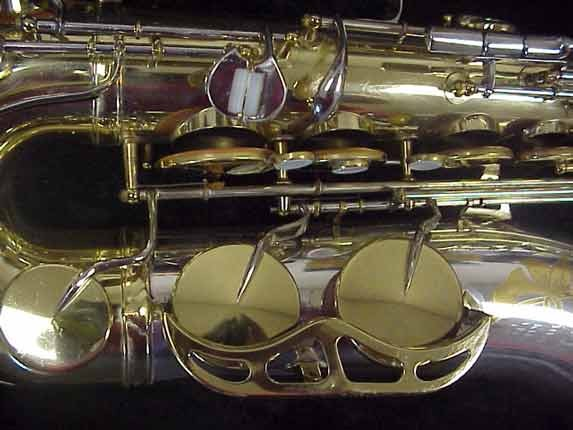 King Silver-Sonic Gold Inlay Super 20 Tenor - 532373 - Photo # 13