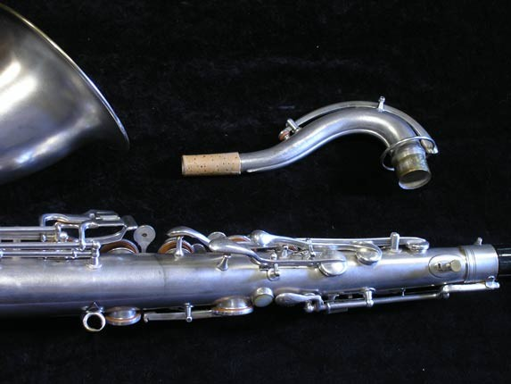"Conn ""New Wonder"" Matte Silver Plate Tenor - 98888 - Photo # 6"