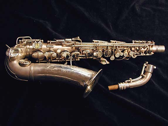 Conn Silver Plate Transitional 6M Alto - 268713 - Photo # 1