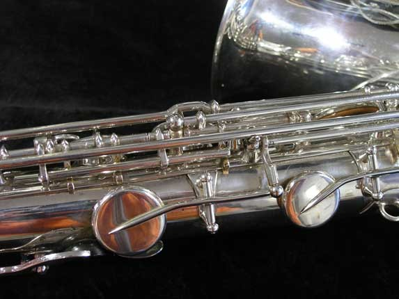 Selmer Silver Plate Mark VI Tenor - 134726 - Photo # 11