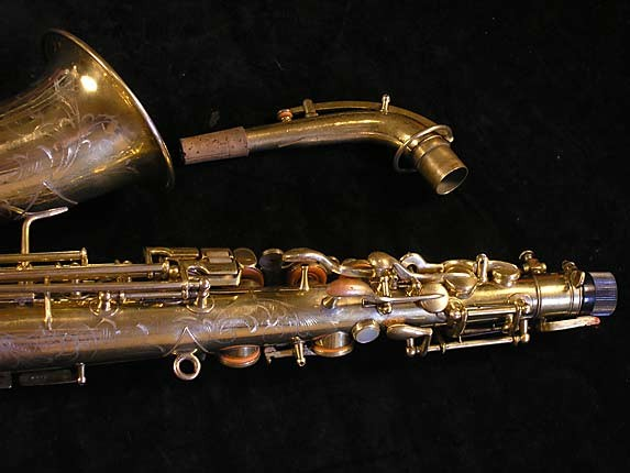 "Martin Gold Plate ""Elkhart"" Alto - 56694 - Photo # 6"