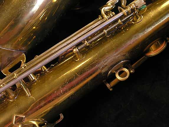 King Lacquer-Sterling Neck Super 20 Tenor - 303251 - Photo # 15