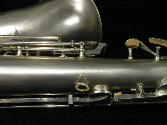 C.G. Conn Silver Plate New Wonder Tenor - 144667 - Photo # 16