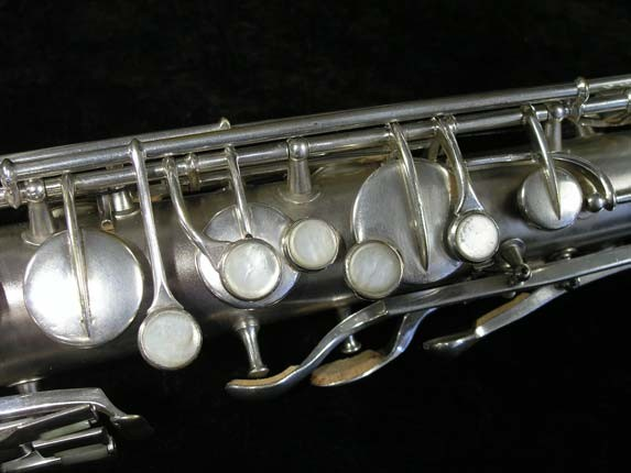 "Conn ""New Wonder"" Matte Silver Plate Tenor - 98888 - Photo # 7"