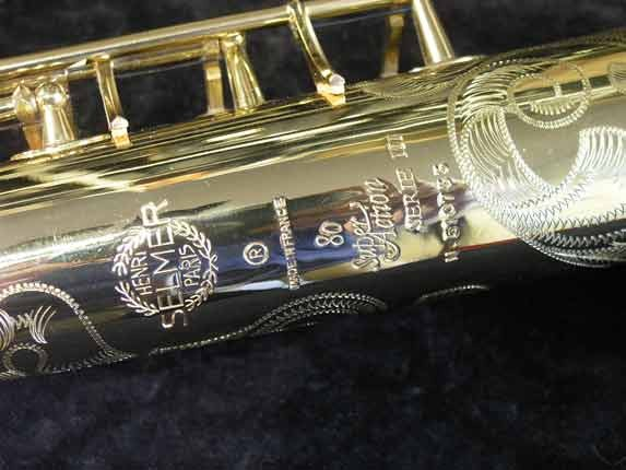 Selmer Lacquer Super Action 80 serie III Soprano - 510733 - Photo # 16