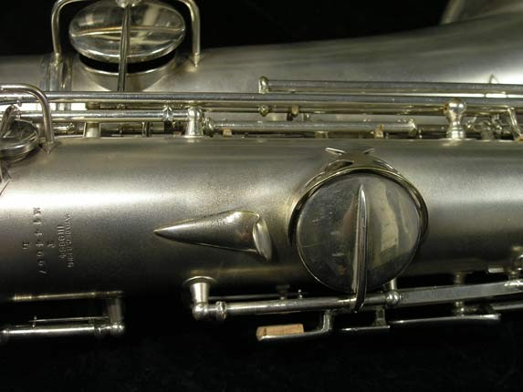 C.G. Conn Silver Plate New Wonder Tenor - 144667 - Photo # 17