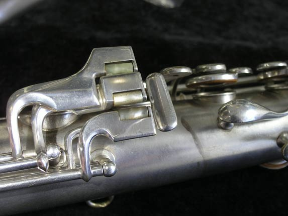 "Conn ""New Wonder"" Matte Silver Plate Tenor - 98888 - Photo # 8"