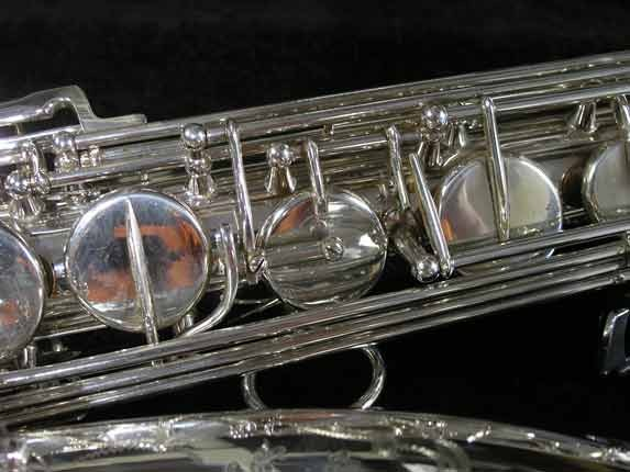 Selmer Silver Plate Mark VI Tenor - 134726 - Photo # 13
