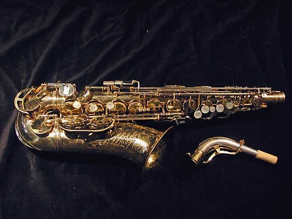 King Lacquer-Sterling Neck Super 20 Alto - 364965 - Photo # 1