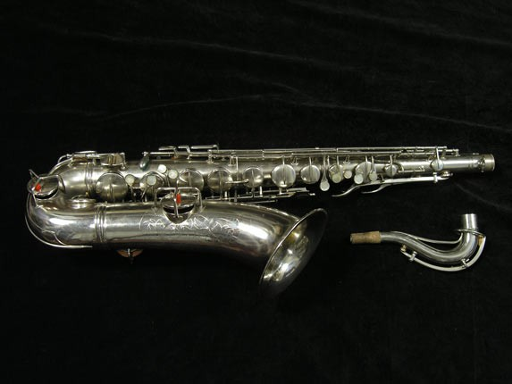 Conn Nickel Plate Chu Berry Tenor - 210338 - Photo # 1