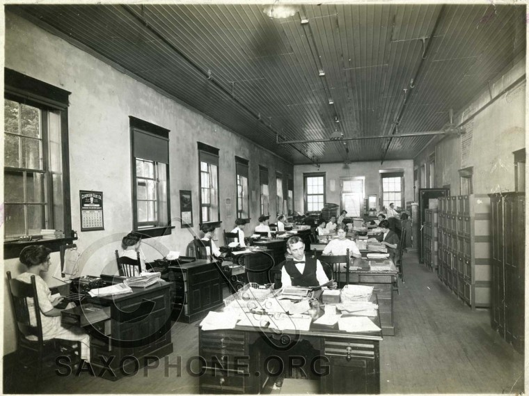 Buescher Sales Office 1912
