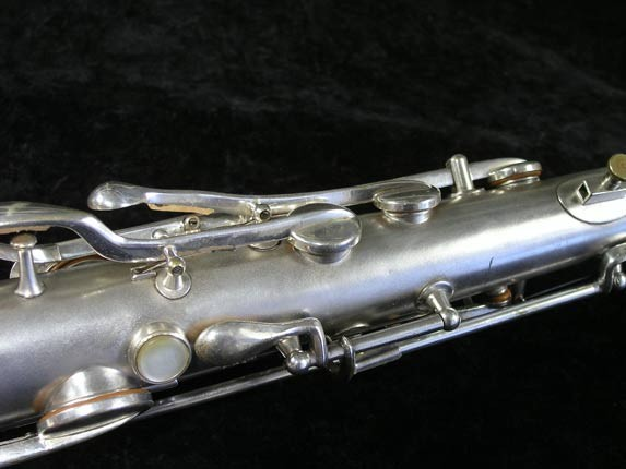 "Conn ""New Wonder"" Matte Silver Plate Tenor - 98888 - Photo # 9"