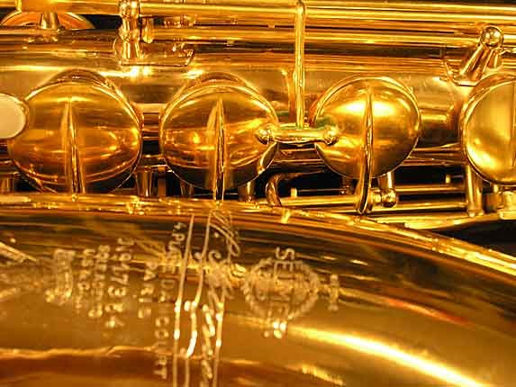 Selmer Gold Plate Super Tenor - 17354 - Photo # 13
