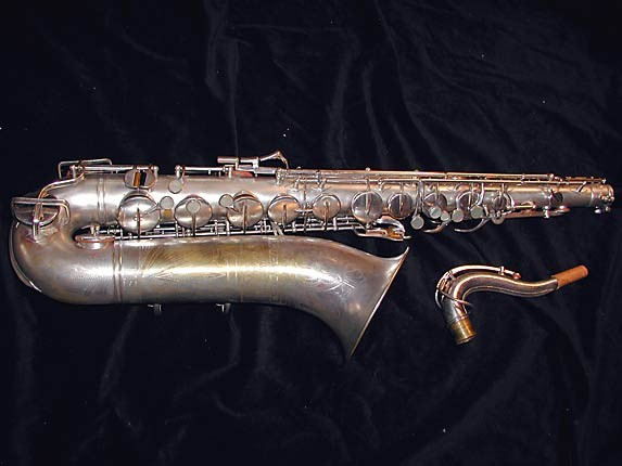 Buescher Silver Plate Aristocrat Series III Tenor - 331005 - Photo # 1