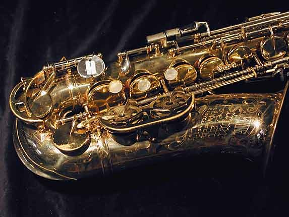 King Lacquer-Sterling Neck Super 20 Alto - 364965 - Photo # 2