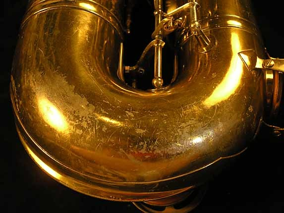 King Lacquer-Sterling Neck Super 20 Tenor - 303251 - Photo # 18