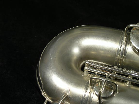C.G. Conn Silver Plate New Wonder Tenor - 144667 - Photo # 19