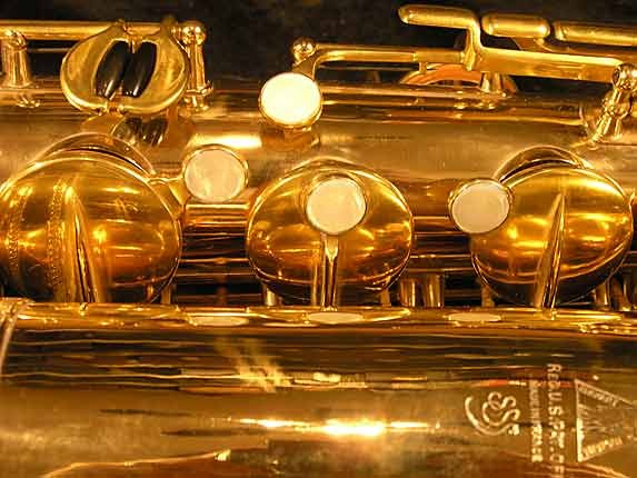 Selmer Gold Plate Super Tenor - 17354 - Photo # 14