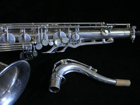 Selmer Silver Plate Mark VI Tenor - 82047 - Photo # 3