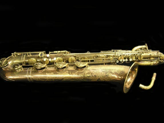 "Selmer Lacquer Mark VI ""Low A"" Baritone - 93188 - Photo # 1"
