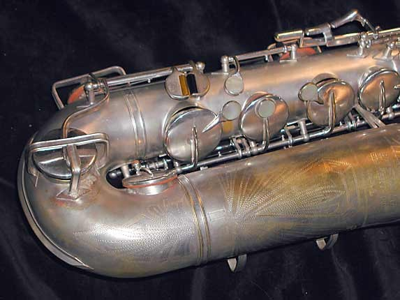 Buescher Silver Plate Aristocrat Series III Tenor - 331005 - Photo # 2