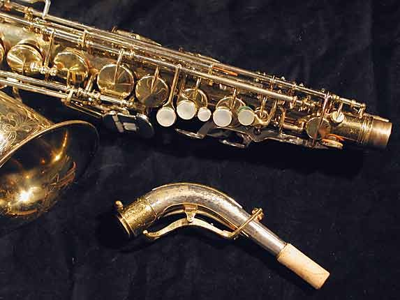 King Lacquer-Sterling Neck Super 20 Alto - 364965 - Photo # 3