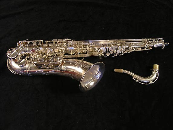 Yamaha Silver Plate Custom YTS-875 - 005658 - Photo # 1