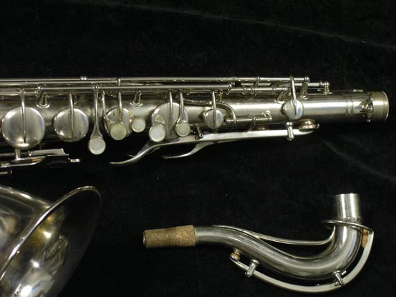 Conn Nickel Plate Chu Berry Tenor - 210338 - Photo # 3