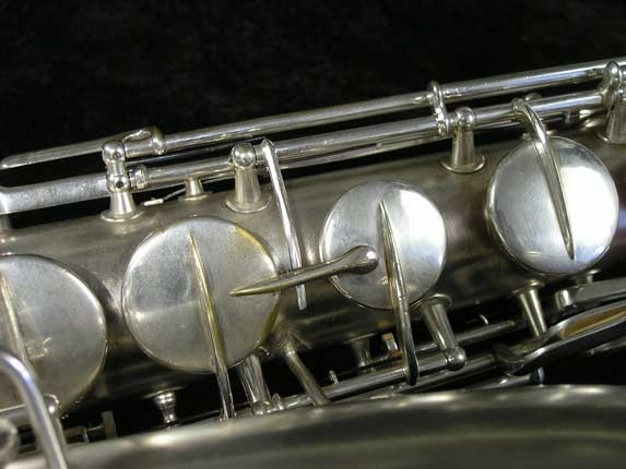 "Conn ""New Wonder"" Matte Silver Plate Tenor - 98888 - Photo # 11"