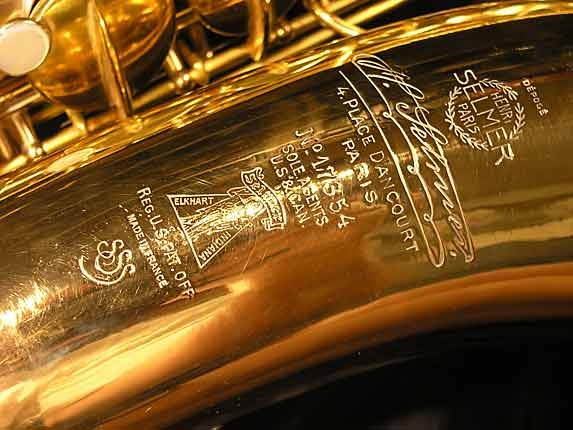 Selmer Gold Plate Super Tenor - 17354 - Photo # 15