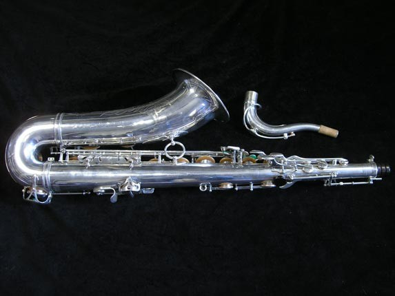 Selmer Silver Plate Mark VI Tenor - 82047 - Photo # 4