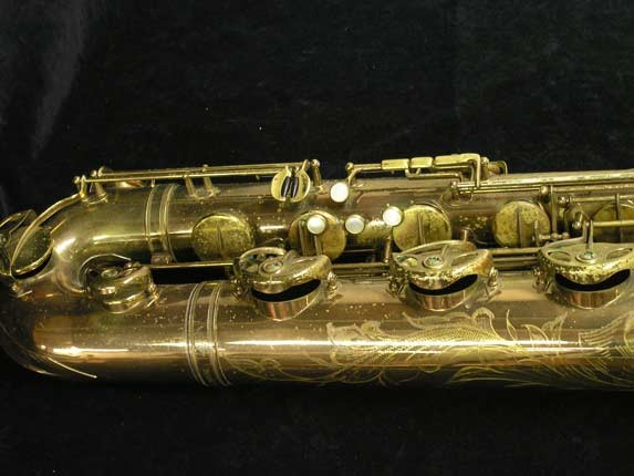 "Selmer Lacquer Mark VI ""Low A"" Baritone - 93188 - Photo # 2"
