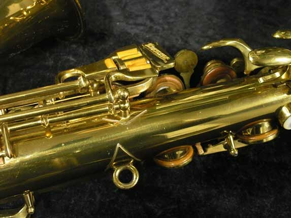 "Buescher Lacquer Aristocrat ""Big B"" Alto - 295790 - Photo # 10"