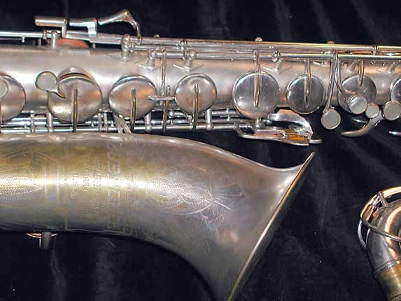 Buescher Silver Plate Aristocrat Series III Tenor - 331005 - Photo # 3