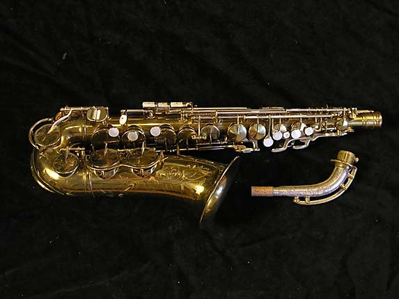 King Lacquer-Sterling Neck Zephyr Alto - 237127 - Photo # 1