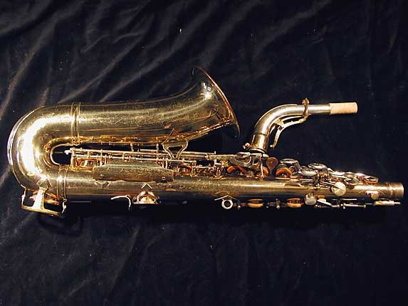 King Lacquer-Sterling Neck Super 20 Alto - 364965 - Photo # 4