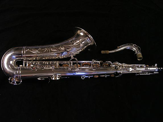 Yamaha Silver Plate Custom YTS-875 - 005658 - Photo # 2