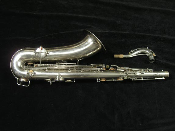 Conn Nickel Plate Chu Berry Tenor - 210338 - Photo # 4