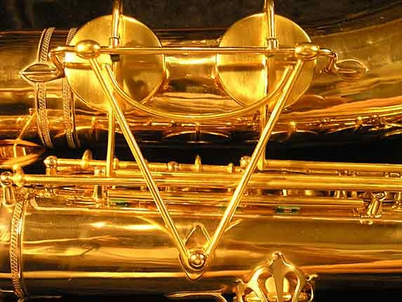 Selmer Gold Plate Super Tenor - 17354 - Photo # 16