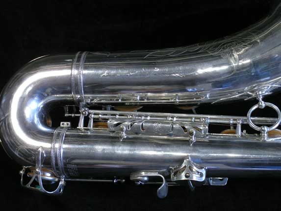 Selmer Silver Plate Mark VI Tenor - 82047 - Photo # 5