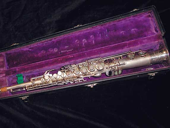Buescher Silver Plate True Tone C Soprano - 236834 - Photo # 1